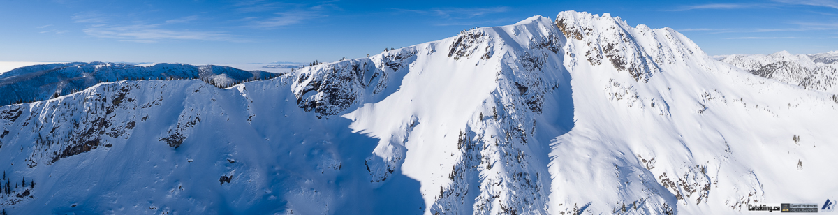 Some epic lines wait at K3 Catskiing